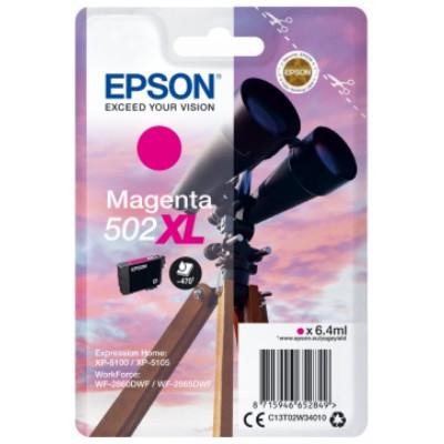 Tusz oryginalny 502 XL do Epson (C13T02W34010) (Purpurowy)