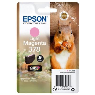 Tusz oryginalny 378 do Epson (C13T37864010) (Jasny purpurowy)