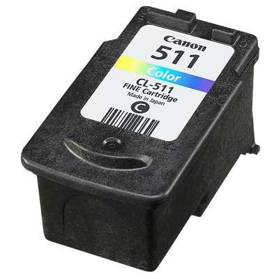 Skup tusz CL-511 do Canon (2972B001) (Kolorowy)