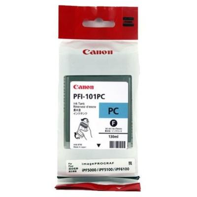Tusz oryginalny PFI-101PC do Canon (0887B001) (Błękitny Foto)