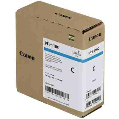 Tusz oryginalny PFI-110C do Canon (2365C001) (Błękitny)