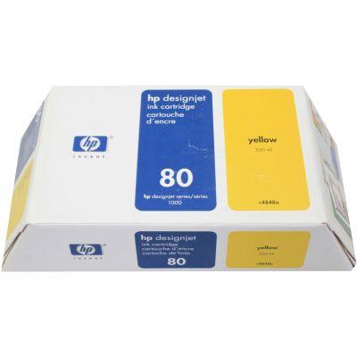 Tusz oryginalny 80 XL do HP (C4848A) (Żółty)