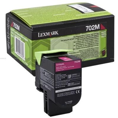 Toner oryginalny 702M do Lexmark (70C20M0) (Purpurowy)