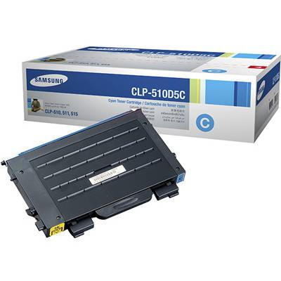 Toner oryginalny CLP-510D5C 5K do Samsung (CLP-510D5C) (Błękitny)