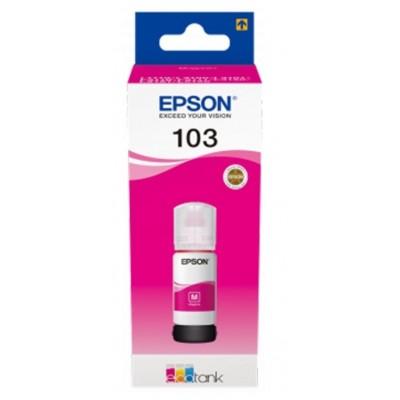 Tusz oryginalny 103 do Epson (C13T00S34A) (Purpurowy)
