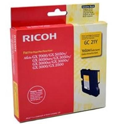 Tusz oryginalny GC-21Y do Ricoh (405535) (Żółty)