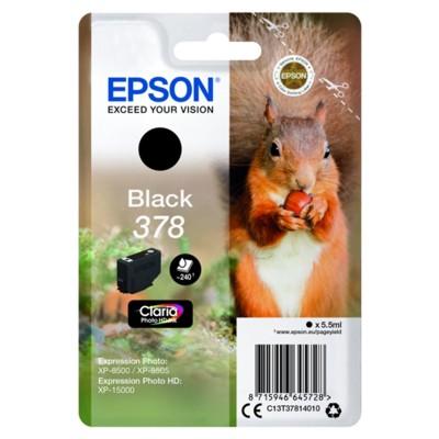 Tusz oryginalny 378 do Epson (C13T37814010) (Czarny)