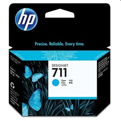 Tusz oryginalny 711 do HP (CZ130A) (Błękitny)