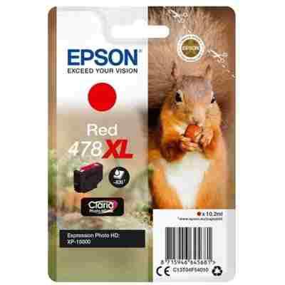 Tusz oryginalny 478 XL do Epson (C13T04F54010) (Czerwony)