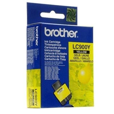 Tusz oryginalny LC-900 Y do Brother (LC900Y) (Żółty)