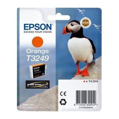Tusz oryginalny T3249 do Epson (C13T32494010) (Pomarańczowy)