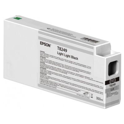 Tusz oryginalny T8249 do Epson (C13T824900) (Jasny jasny czarny)