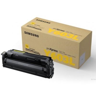 Toner oryginalny CLT-Y603L do Samsung (SU557A) (Żółty)