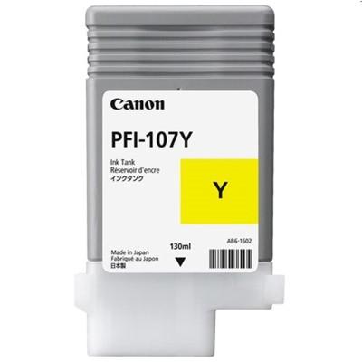 Tusz oryginalny PFI-107Y do Canon (6708B001) (Żółty)