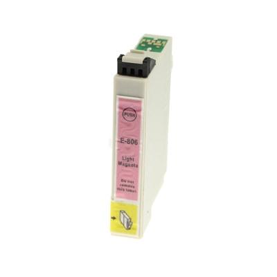 Tusz zamiennik T0806 do Epson (C13T08064011) (Jasny purpurowy)