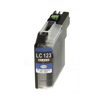 Tusz zamiennik LC-123 BK do Brother (LC123BK) (Czarny)