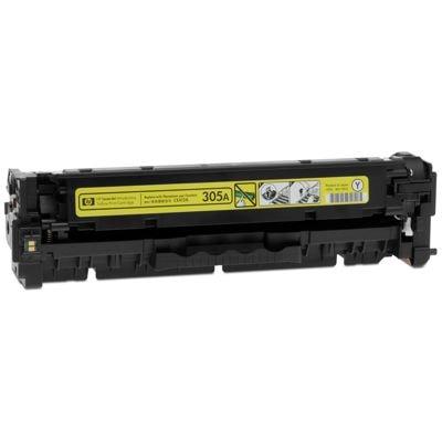 Regeneracja toner 305A do HP (CE412A) (Żółty)