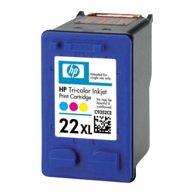 Regeneracja tusz 22 XL do HP (C9352CE) (Kolorowy)