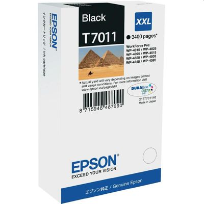 Tusz oryginalny T7011 do Epson (C13T70114010) (Czarny)