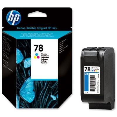 Tusz oryginalny 78 do HP (C6578DE ) (Kolorowy)