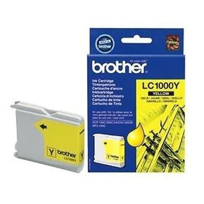 Tusz oryginalny LC-1000 Y do Brother (LC1000Y) (Żółty)