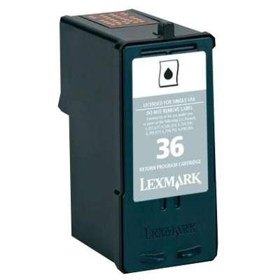 Regeneracja tusz 36 do Lexmark (18C2130E) (Czarny)