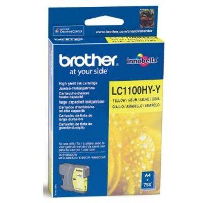 Tusz oryginalny LC-1100HY Y do Brother (LC1100HYY) (Żółty)