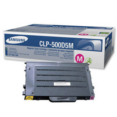 Toner oryginalny CLP-500D5M do Samsung (CLP-500D5M) (Purpurowy)