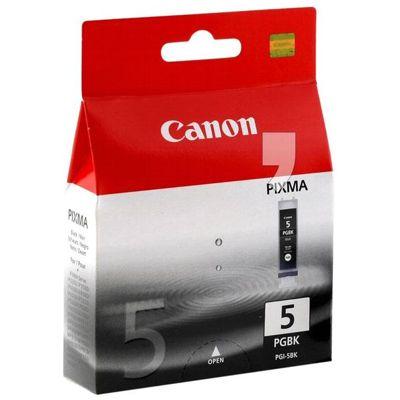 Tusz oryginalny PGI-5 BK do Canon (0628B001) (Czarny)