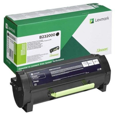 Toner oryginalny B232 do Lexmark (B232000) (Czarny)
