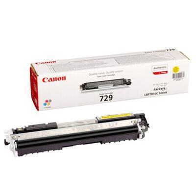 Toner oryginalny CRG-729 Y do Canon (4367B002) (Żółty)