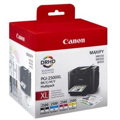 Tusze oryginalne PGI-2500 CMYK do Canon (9254B004) (komplet)
