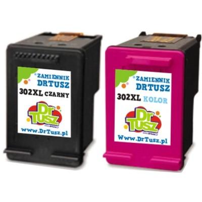Tusze zamienniki 302 do HP (X4D37AE) (komplet)
