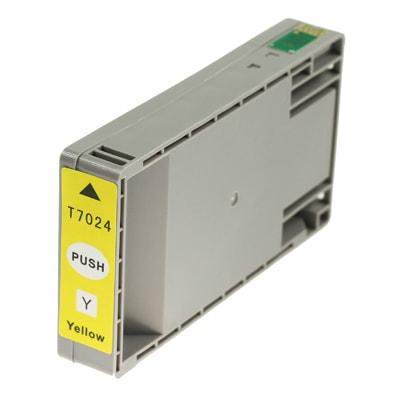 Tusz zamiennik T7024 do Epson (Żółty)
