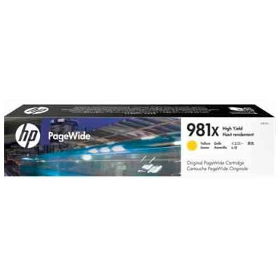 Tusz oryginalny 981X do HP (L0R11A) (Żółty)