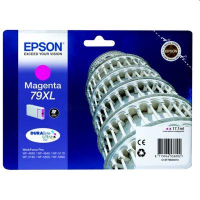 Tusz oryginalny T7903 do Epson (C13T79034010) (Purpurowy)