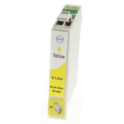 Tusz zamiennik T1284 do Epson (C13T12844010) (Żółty)