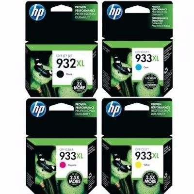 Tusze oryginalne 932 XL/933 XL do HP (C2P42AE) (komplet)