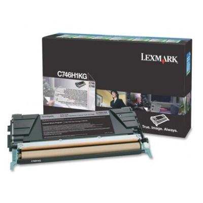 Toner oryginalny C746H1KG do Lexmark (C746H1KG) (Czarny)