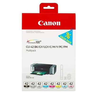 Tusze oryginalne CLI-42 MULTI PACK do Canon (6384B010) (komplet)