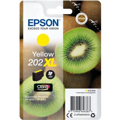 Tusz oryginalny 202 XL do Epson (C13T02H44010) (Żółty)