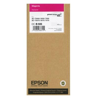 Tusz oryginalny T6943 do Epson (C13T694300) (Purpurowy)