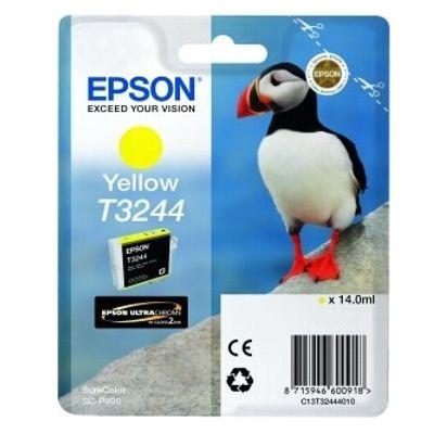 Tusz oryginalny T3244 do Epson (C13T32444010) (Żółty)