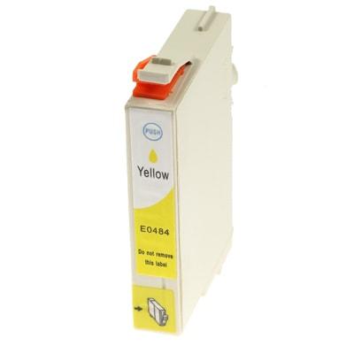 Tusz zamiennik T0484 do Epson (C13T04844010) (Żółty)