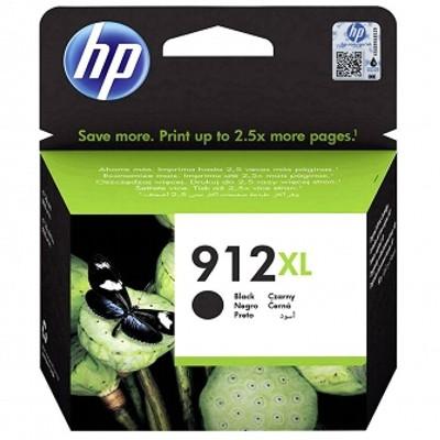 Tusz oryginalny 912 XL do HP (3YL84AE) (Czarny)