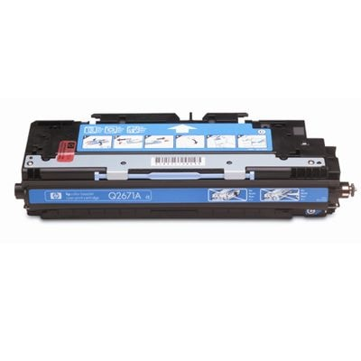 Skup toner 309A do HP (Q2671A) (Błękitny)