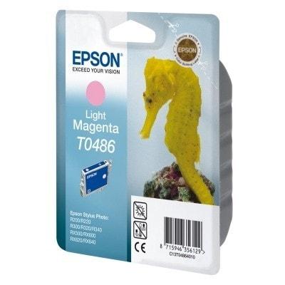 Tusz oryginalny T0486 do Epson (C13T04864010) (Jasny purpurowy)