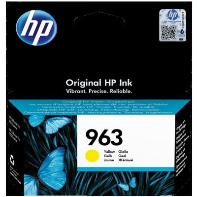 Tusz oryginalny 963 do HP (3JA25AE) (Żółty)