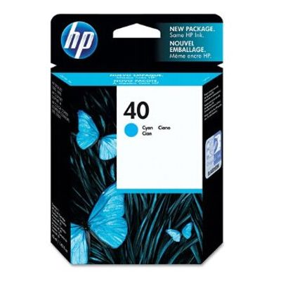 Tusz oryginalny 40 do HP (51640C) (Błękitny)