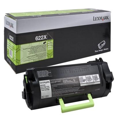 Toner oryginalny 622X do Lexmark (62D2X00) (Czarny)